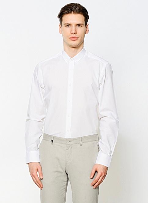 B Beymen Klasik Gömlek Beyaz